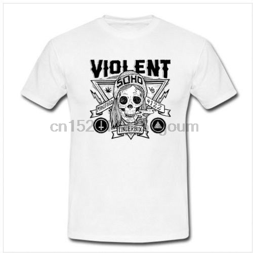 f6276e5c2 Aliexpress.com : Buy VIOLENT SOHO Tour Tshirt White Tee Cotton New Men T  Shirt Size S to 3XL Women tshirt from Reliable T-Shirts suppliers on kaer  Store