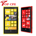 1 Year warranty Unlocked Original Nokia Lumia 920 refurbished Windows Phone 8 Dual Core 32GB Storage 4G cell phone free shipping