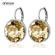Xuping Fashion Top Sale Crystals from Swarovski Colorful Earring With Platinum Color Plated Charm for Women Gift M1-XE2189
