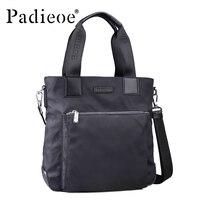 Padieoe Luxury Waterproof Nylon Briefcase High Quality Durable Men S Casual Tote Bag Fashion Shoulder Bag