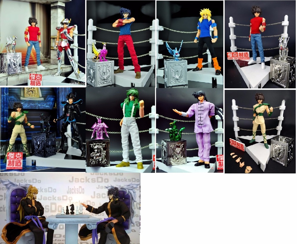 In Stock Shiryu SHUN Ikki Hyoga Pegasus Gigant Stand Deadly Beetle Saint Seiya Specters Myth Cloth EX THE LOST CANVAS JacksDo
