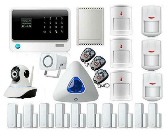 Yobangi turvalisus Traadita Wifi GSM GPRS-i koduautomaatika / - Turvalisus ja kaitse - Foto 2