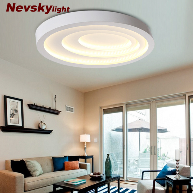 Us 305 93 Nevsky Ceiling Light Metal Case Ceiling Led Lamp Shade With Thick Iron Plate White Coating High Quality Led Strip Cool And Warm In