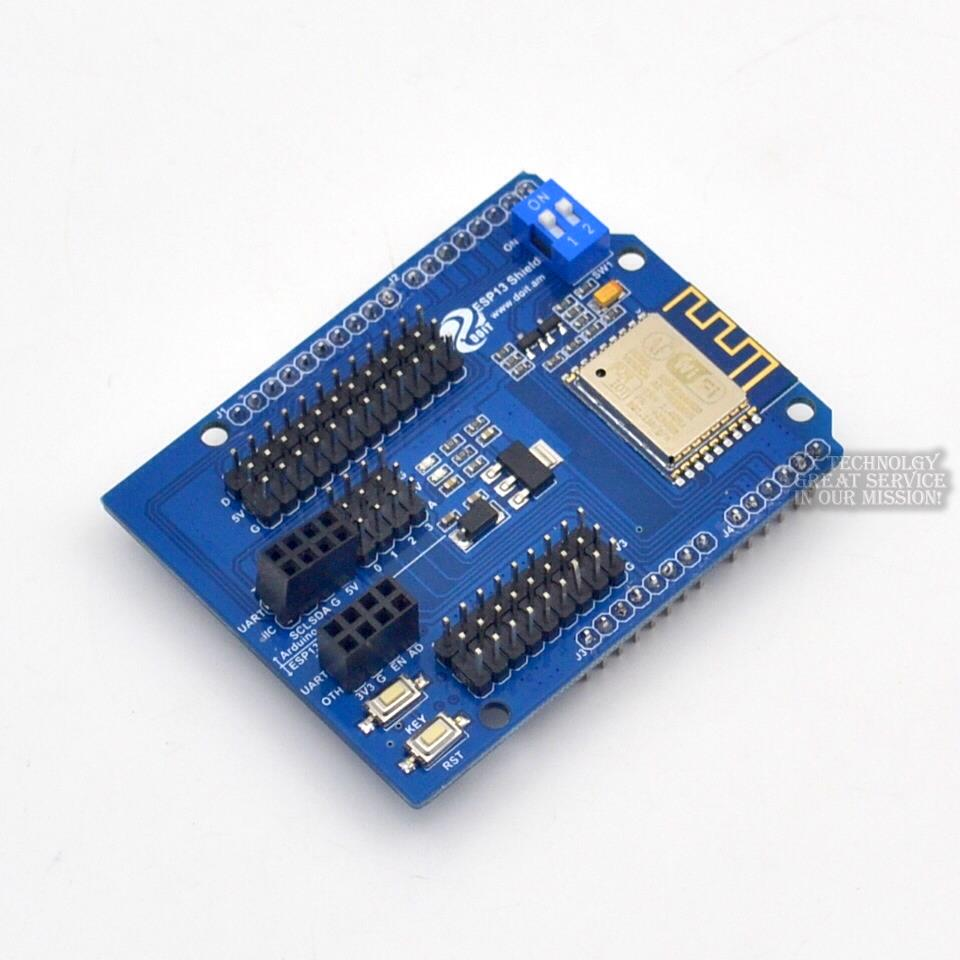 ESP8266 Web Sever Serial WiFi Shield Board Module With ESP-13 For UNO R3 diy