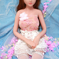 Athemis Small size lace dress for  Dolls Clothing real sex dolls dress hairpin and brooch
