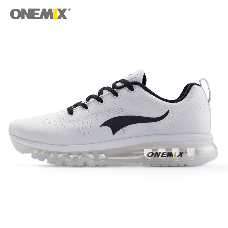 ONEMIX Woman Running Shoes for Women Cushion Shox Athletic Trainers White Sports Shoe Max Zapatillas Outdoor Walking Sneakers 7 2018 man running shoes for men cushion shox athletic trainers sport shoe max zapatillas wave breathable outdoor walking sneakers