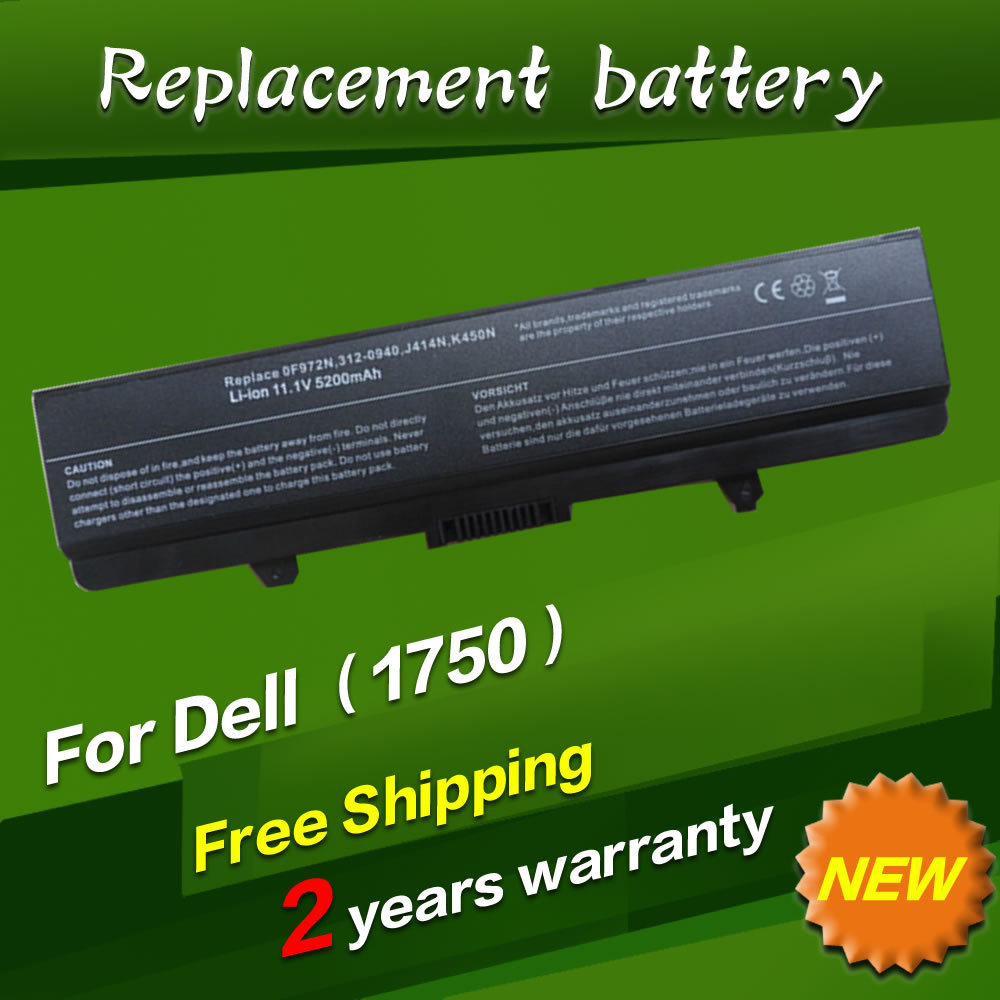JIGU Replacement Laptop Battery For <font><b>Dell</b></font> <font><b>INSPIRON</b></font> 1440 <font><b>1750</b></font> 0F972N 312-0940 J414N K450N 6CELLS image
