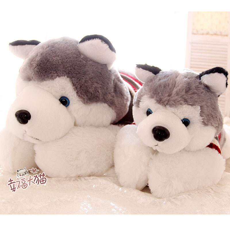 Toys For Grandparents House : Candice guo plush toy super cute papa husky sweater dog