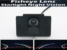 For Kia K7 Cadenza 2012 2013 Fisheye Lens Trajectory Tracks 1080P Car Parking Rear view Camera Waterproof Backup Camera