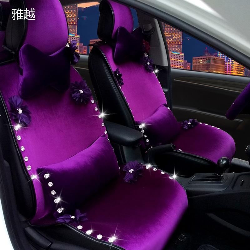 Custom Cartoon Car Seat Covers