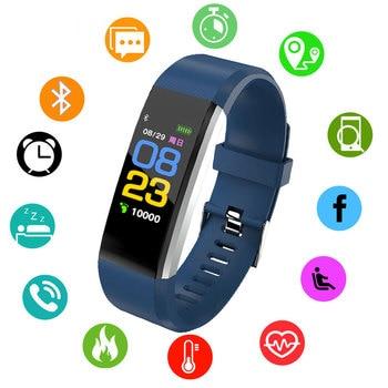7bfbdd882f67 BOAMIGO nuevo reloj inteligente de las mujeres de los hombres de Monitor de  presión arterial Fitness Tracker reloj inteligente reloj deportivo para ios  ...