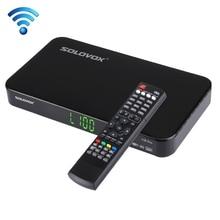 Original F5S SOLOVOX Plus 1080 p Full HD Receptor de Satélite DVB Youpron CCCAM Soporte USB/MGCAM/NEWCAM Web TV
