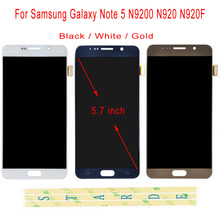 STARDE Replacement LCD For Samsung Galaxy Note 5 N9200 N920 N920F LCD Display Touch Screen Digitizer Sense Assembly 5.7