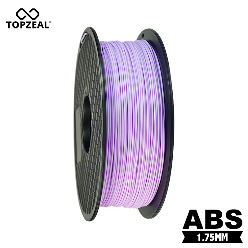 TOPZEAL Taro Purple Color High Quality 1.75mm 1KG/Roll ABS Filament 3D Printer Filament for 3D Printing