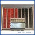 Trial Lens Set 232 pcs Lens Evidence Box Plastic Rim B Class Quality SL-232 Aluminum Case