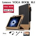 Для Lenovo ЙОГА КНИГИ случаи кобура канди таблетки поддержка набор 10.1 дюймов цвет соответствующий набор Роскошный чехол Обложка Книги tablet случае