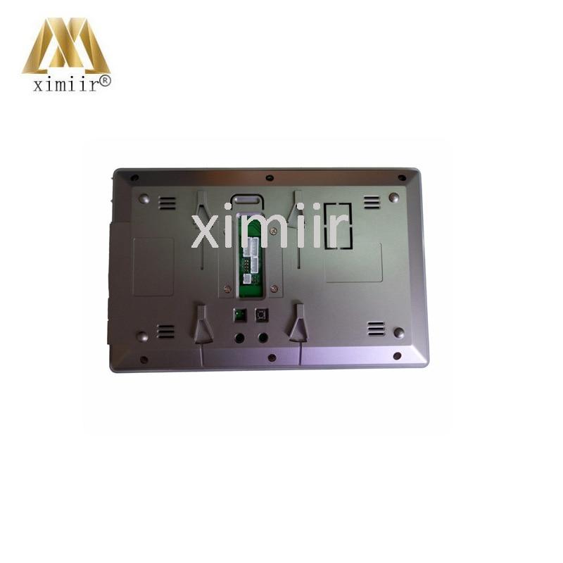 Gute qualität 7 inch farbe hände freies monitor IR kamera eins zu eins video intercom system 802MJ11 wired video tür glocke - 2