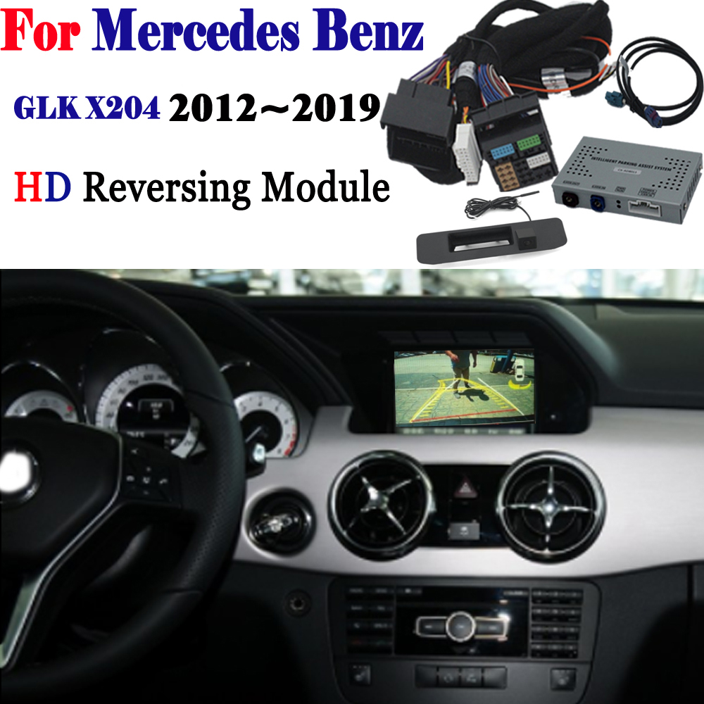 Reversing Camera For Mercedes-Benz GLK X204 2012~2019 Interface Backup Parking Rear Camera Connect Original Display MMI DecodReversing Camera For Mercedes-Benz GLK X204 2012~2019 Interface Backup Parking Rear Camera Connect Original Display MMI Decod