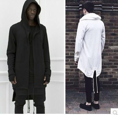 2015 Hoodies Men/women Hooded Cloak Plus Long Shawl Double Coat-Coat Assassins Creed Jacket Streetwear Oversize