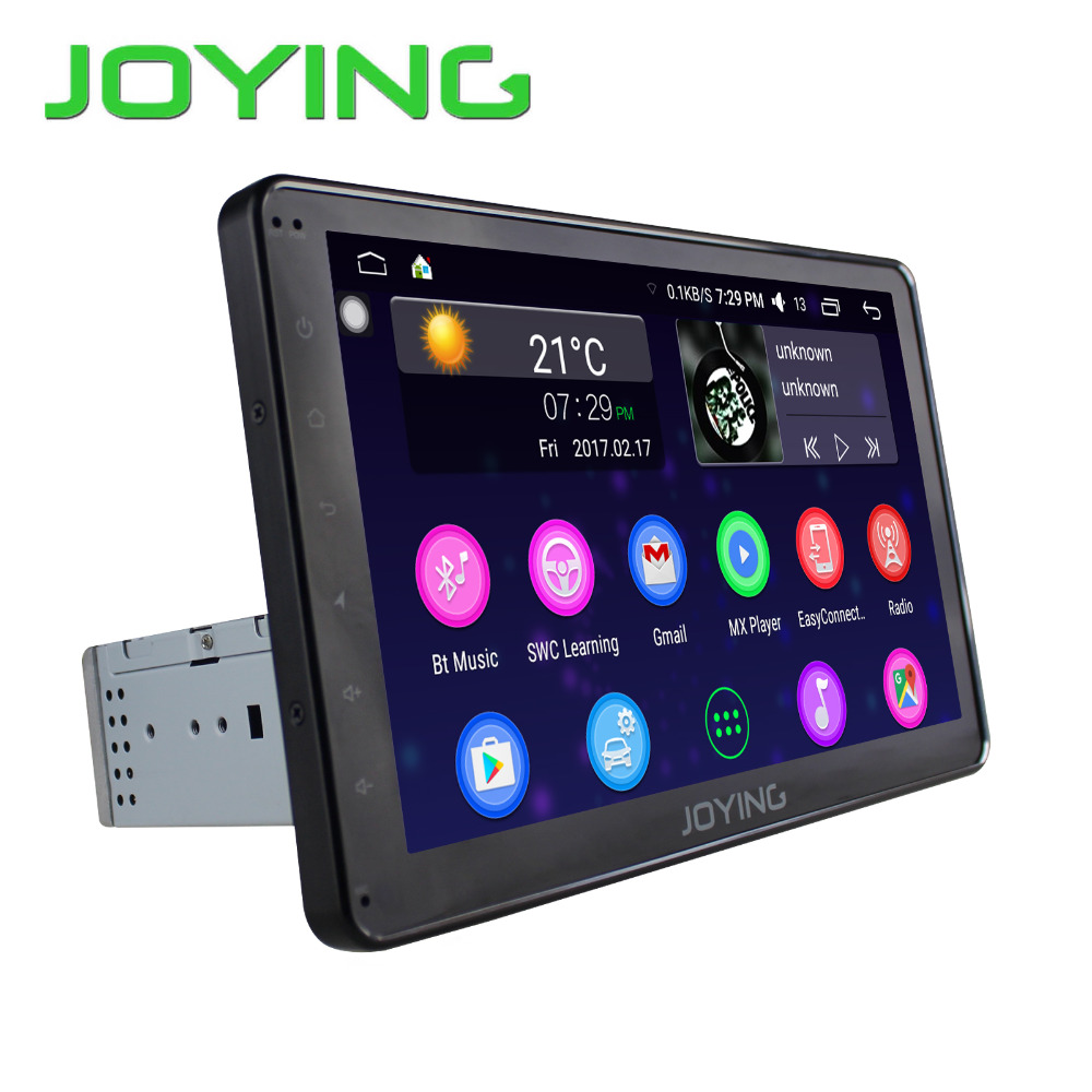 Latest 2017 Android 6.0 car stereo Single 1din Auto radio HD 1024*600 GPS radio 10.1 inch screen Universal Quad Core Head unit