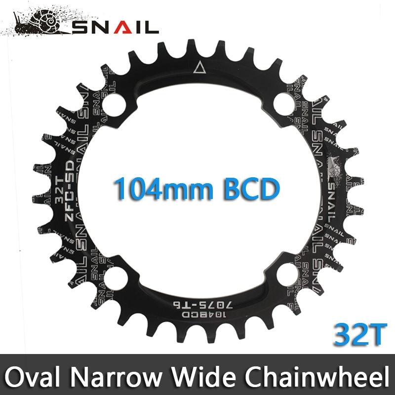 SNAIL 104BCD 32T / 34T / 36T Ultralight A7075 Alloy MTB Bike Bicycle - Հեծանվավազք - Լուսանկար 2