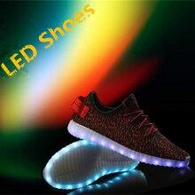 MaiDun Männer yeezy LED Schuhe Neue Mode licht bunte Blinkende Sneaker für Männer Partei und Tanzen