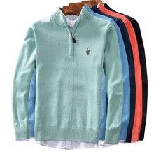 Male Sweater Winter Pullover Turtle Neck Men's Jumper orange Mens Knitwear Pull Homme Turtleneck Men Sweater Christmas Cotton цена 2017