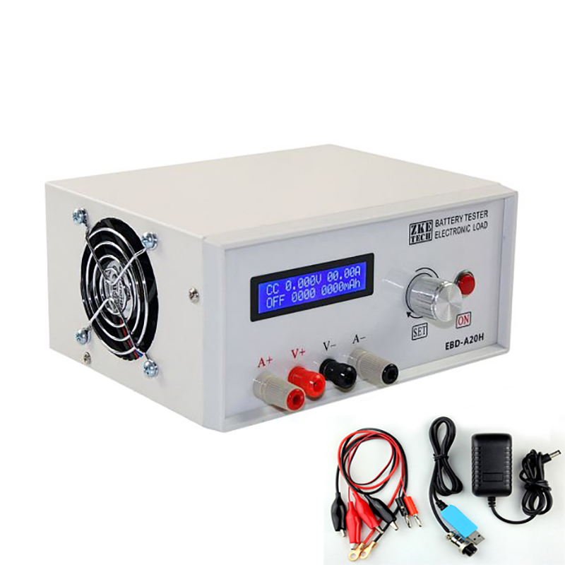 Battery capacity tester Electronic load Battery Discharge Tester Power Supply Tester 30V 20A 200W EBD-A20H liitokala new original 18650 2500mah batteries inr1865025r 3 6v discharge 20a dedicated battery power diy nickel sheet