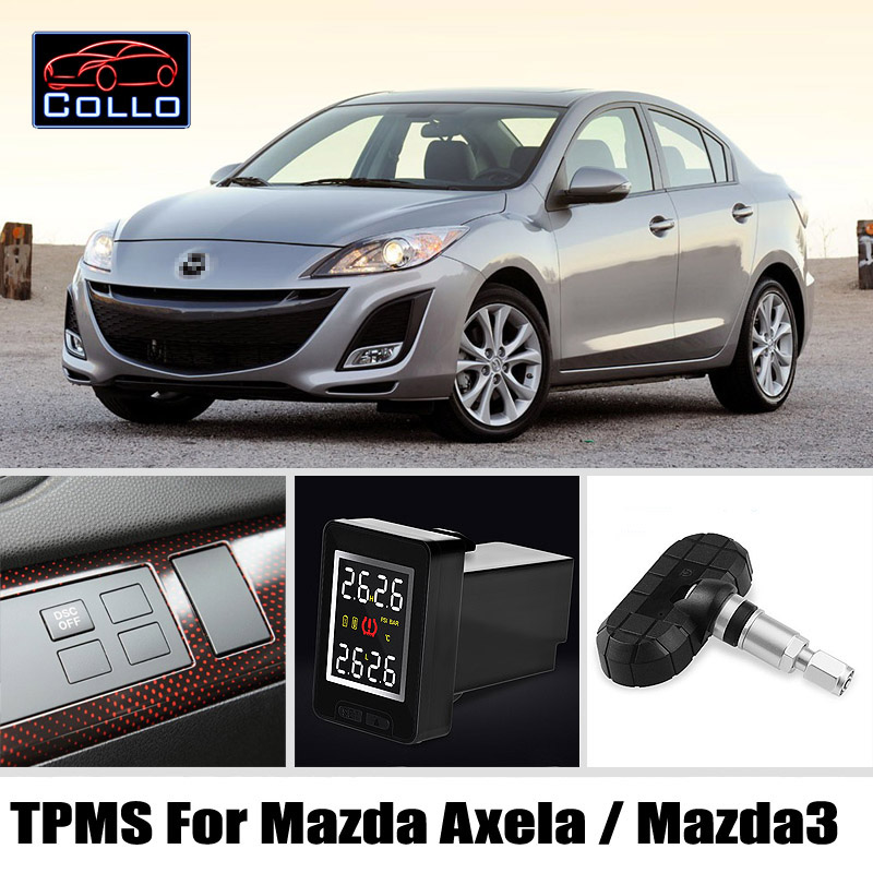 Հատուկ Mazda 3 Mazda3 Axela / Auto TPMS անվադողերի - Ավտոմեքենաների էլեկտրոնիկա - Լուսանկար 1