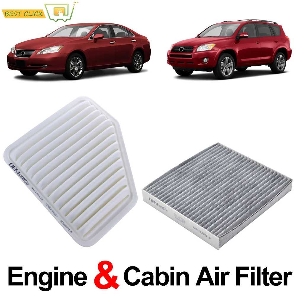 AIR FILTER CABIN FILTER COMBO FOR 2005 2006 2007 2008 2009 2010 2011 VOLVO S40