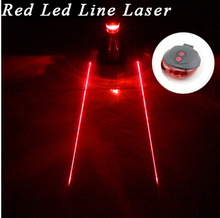 Tail light (5LED+2Laser) free shipping factory Cycling Safety Bicycle Rear Lamp Bike Laser Tail Light Bicicleta Caution TL0009