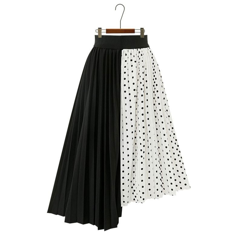 Pleated Gapvas Summer Skirts