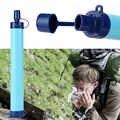 Escursione di campeggio Di Emergenza di Salvataggio Di Sopravvivenza Portatile Depuratore di Acqua Filtro Acqua di Paglia Ingranaggio di Sicurezza e Di Sopravvivenza