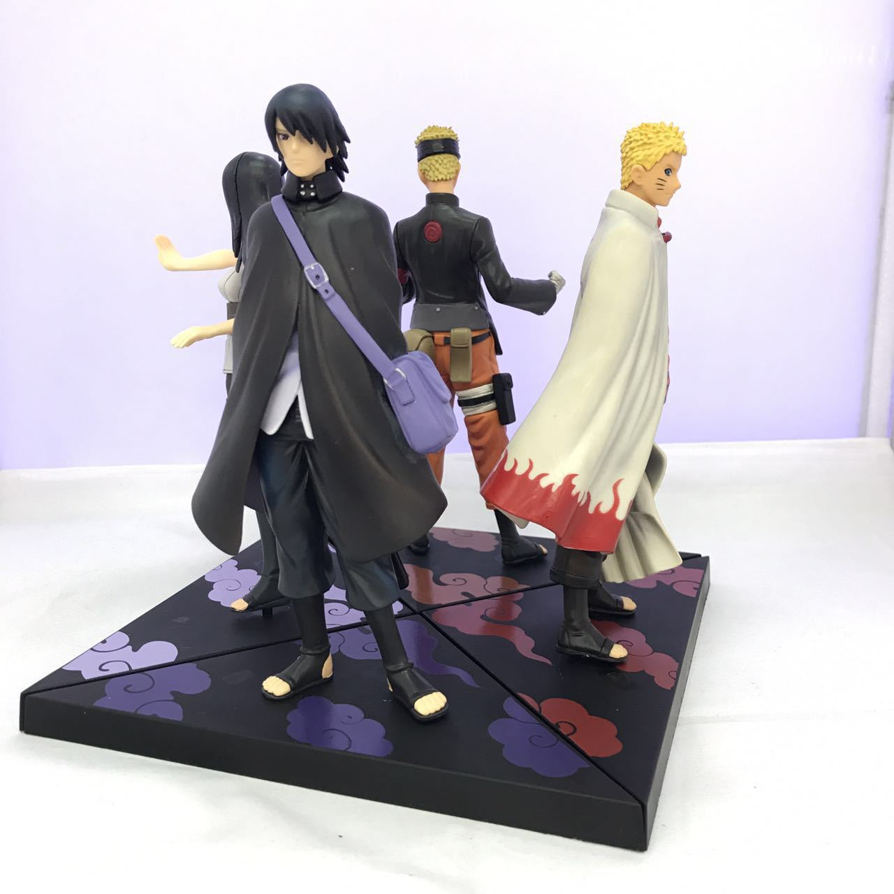 WVW 2pcs/Set Anime Heroes Naruto Itachi Sasuke Gaara Uzumaki Naruto Model PVC Toy Action Figure Decoration For Collection Gift anime naruto uzumaki naruto figure bond relation ver pvc action figure resin collection model toy doll gifts cosplay
