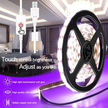 USB 5V Led Strip Light Makeup Mirror Lamp Tape Flexible Dressing Table Mirror Wall Light 2835SMD Dimmable Vanity Mirror Lamp Kit wooden dressing table makeup desk with stool oval rotation mirror 5 drawers white bedroom furniture dropshipping