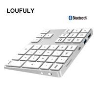34 2 in 1 USB C 3.1 HUB Wireless Numeric Keypad Bluetooth 34 keys Numpad Type C Keypad Wireless For Android Phone For Apple Acount (1)