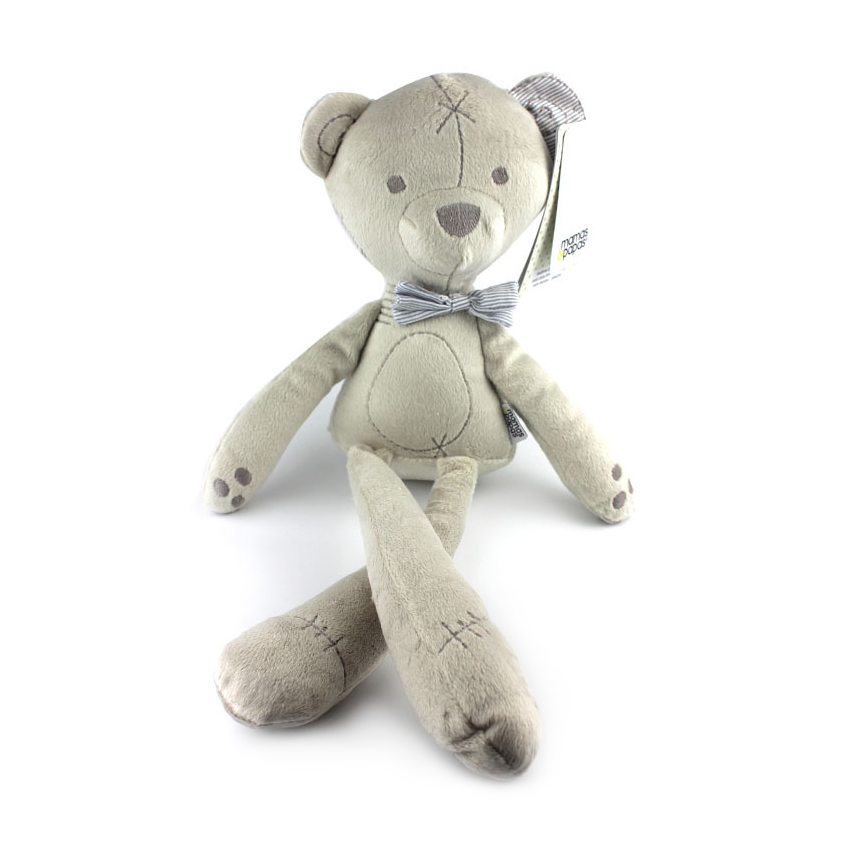 1pc 42cm Baby Bear Sleeping Comfort Doll Plush Toys Millie & Boris Smooth Obedient Rabbit Sleep Calm Doll Nice Gift for Baby sheepet baby plush toy bear sleeping comfort doll stuffed animal toys smooth bear sleep doll kid nice gift