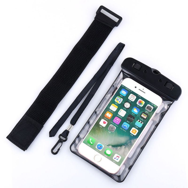 Universal Waterproof Bag IPX8 Underwater Swimming Pouch Waterproof Phone Case For Samsung S8 S9 For Iphone X 8 7 5S