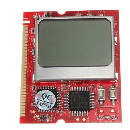 все цены на  5pcs/lot PCI LCD Display Motherboard Diagnostic Debug Card Tester PC  онлайн