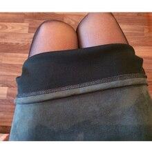 Women Skirts Suede