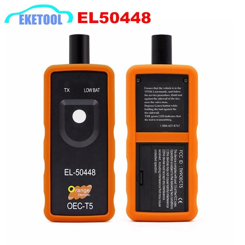 Hohe Qualität TPMS Reset Tool OEC-T5 Orange Elektronische EL50448 Reifendruck Sensor Ersatz EL 50448 Für GM/Opel Serie