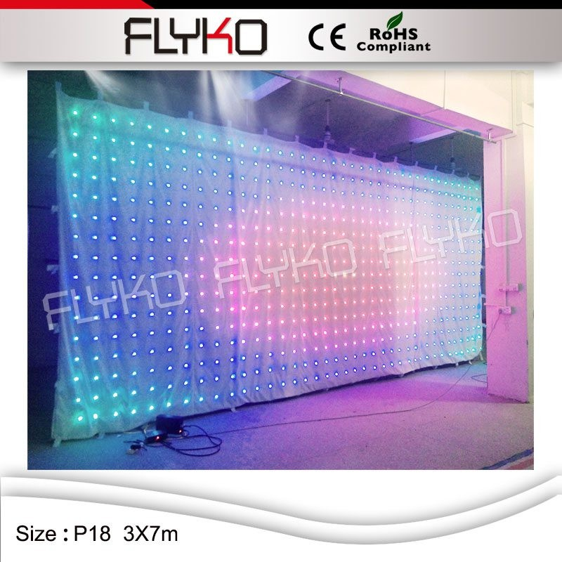 LED video curtain33
