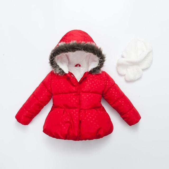 Jaqueta de Inverno para as meninas 2017 Novo casaco de Inverno para meninas Crianças casacos de inverno para a menina Crianças Outwear Menina a roupa das crianças