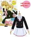 Зажим Аниме Card captor sakura Новый Косплей Костюм Младший Школьная форма Полный набор платье