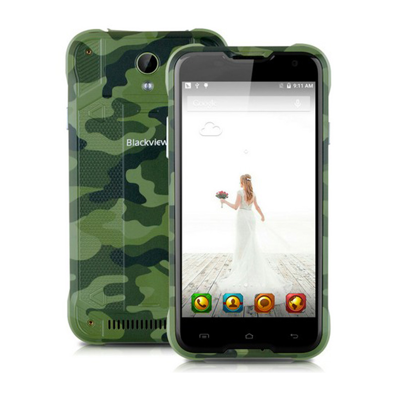 "Original Blackview BV5000 4G LTE IP67 Waterproof Android 5.1 Smartphone 5"" 2GB RAM 16GB ROM Quad Core 13MP Camera Multi Language"
