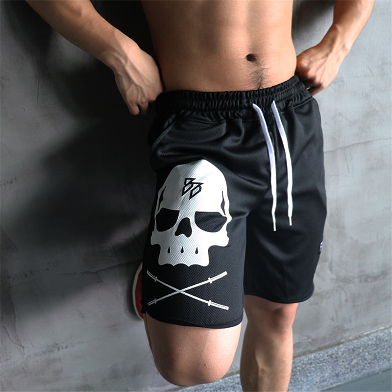 2019 Casual Summer Men's Shorts Gym Sport Running Male Fitness Bodybuilding Workout Man Crossfit Jogger Short Pants M-5XL