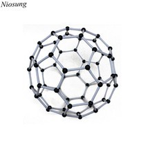 New Scientific Chemistry Carbon 60 C60 Atom Molecular Model Links Kit Set For student study wholesale