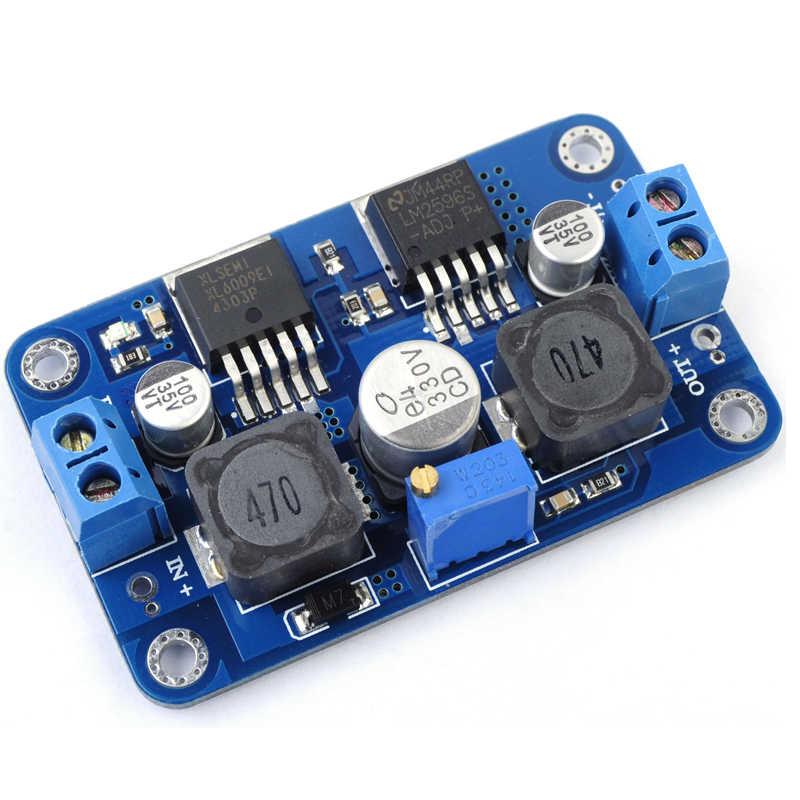 DC-DC Automatique Intensifier Module Abaisseur 3.5 V-28 V à 1.25 V-26 V Tension Carte Convertisseur Boost Buck Module D'alimentation