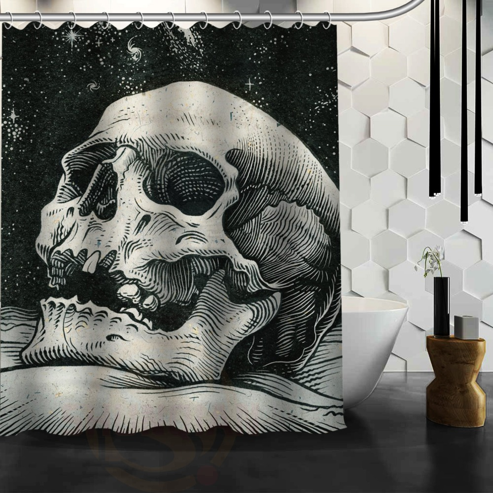 Skull Bedroom Curtains Online Get Cheap Painting Curtains Aliexpresscom Alibaba Group