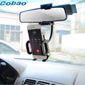 Support telephone voiture mobile holder Car Rearview Mirror Mount Stand Cradle For leagoo m5 xiaomi Cell Phone GPS